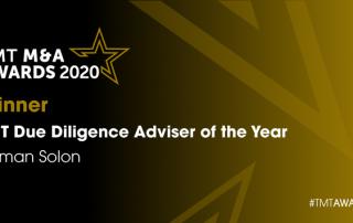 tmt finance award 2020